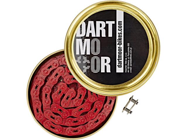 DARTMOOR Core fietsketting 1/8 inch, red